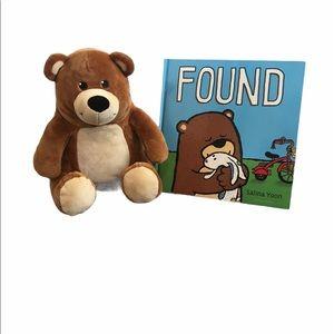 Book and matching bear stuffed animal